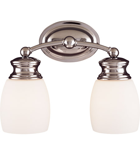 Savoy House Elise 2 Light Vanity Light in Polished Chrome 8-9127-2-11