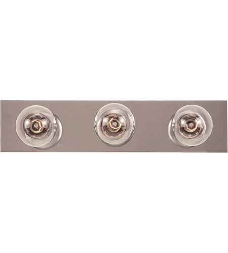 Savoy House 87116-CH Signature 3 Light 18 inch Chrome Bath Bar Wall Light photo