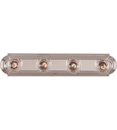 Savoy House 87121-CH Signature 4 Light 24 inch Chrome Bath Bar Wall Light photo
