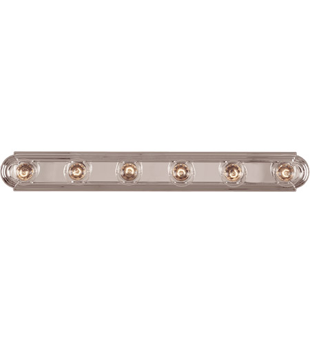 Savoy House Pour Le Bain 6 Light Vanity Light in Chrome 87122-CH photo