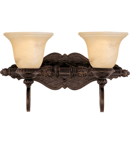 Savoy House 8P-50215-2-16 Knight 2 Light 19 inch Antique Copper Bath Bar Wall Light photo