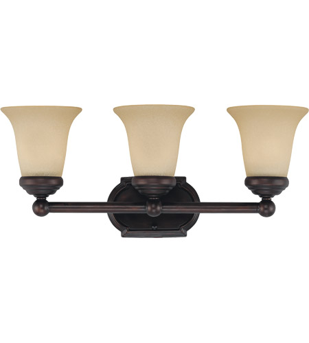 Savoy House Brannon 3 Light Bath Bar in English Bronze 8P-60500-3-13 photo