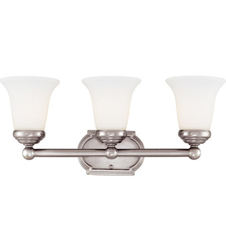 Savoy House Main Street 3 Light Vanity Light in Pewter 8P-60500-3-69