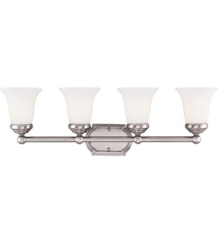 Savoy House 8P-60500-4-69 Brannon 4 Light 28 inch Pewter Bath Bar Wall Light photo