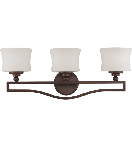 Savoy House 8P-7215-3-13 Terrell 3 Light 26 inch English Bronze Bath Bar Wall Light photo