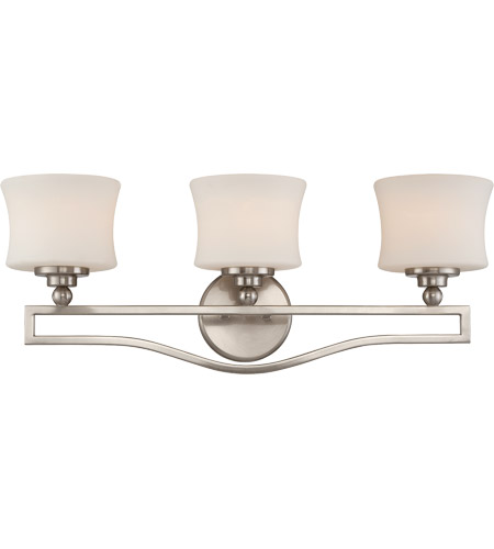 Savoy House 8P-7215-3-SN Terrell 3 Light 26 inch Satin Nickel Bath Bar Wall Light photo