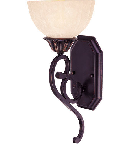 Savoy House Bedford 1 Light Wall Sconce in Distressed Bronze 9-050-1-59