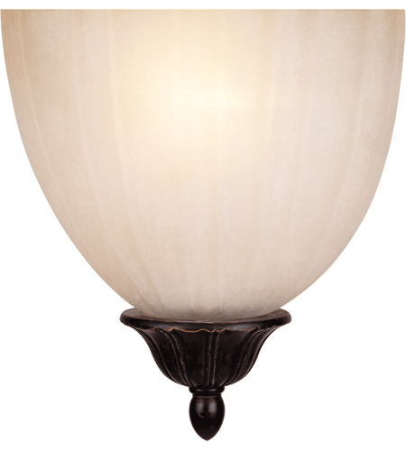Savoy House 9-050AD-1-59 Signature 1 Light 7 inch Distressed Bronze ADA Sconce Wall Light, Half Moon photo