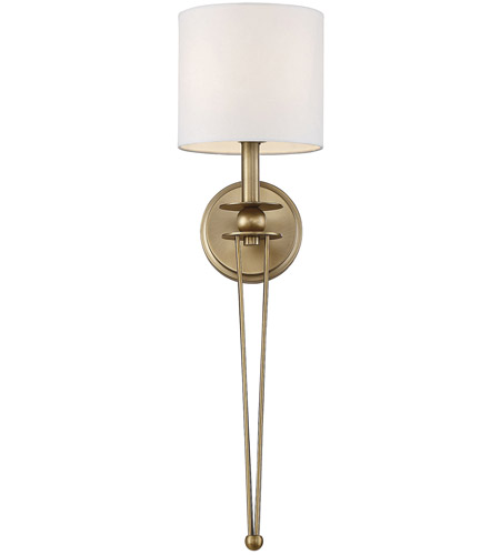 Savoy house 9 1000 1 322 chaplin 1 light 7 inch warm brass wall savoy house 9 1000 1 322 chaplin 1 light 7 inch warm brass wall sconce wall light aloadofball Choice Image