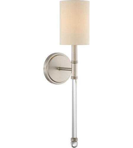 Savoy House 9-101-1-SN Fremont 1 Light 5 inch Satin Nickel Sconce Wall Light photo