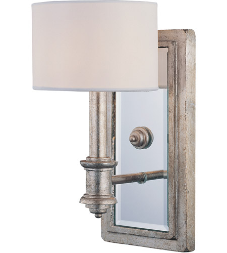Savoy House 9-1105-1-211 Caracas 1 Light 6 inch Argentum Sconce Wall Light photo