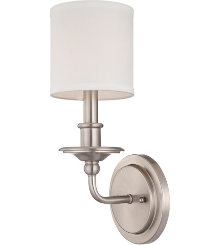 Savoy House Signature 1 Light Sconce in Satin Nickel 9-1150-1-SN