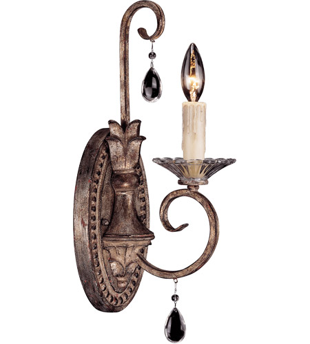 Savoy House Antoinette 1 Light Wall Sconce in New Mocha 9-1396-1-256