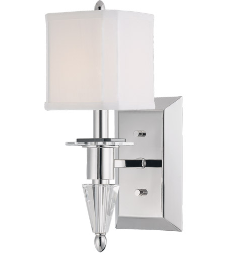 Savoy House Kirra 1 Light Wall Sconce in Polished Nickel 9-153-1-109 photo