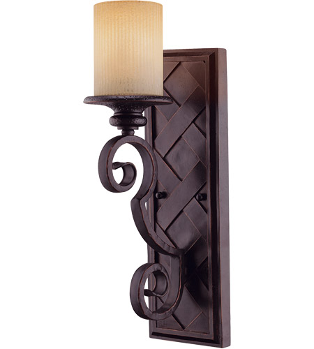 Savoy House Carmel 1 Light Wall Sconce in Slate 9-223-1-25