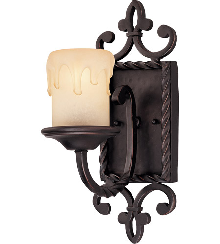 Savoy House San Gallo 1 Light Wall Sconce in Slate 9-2238-1-25 photo