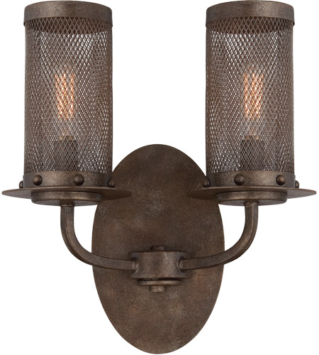 Savoy House 9-2505-2-42 Nouvel 2 Light 10 inch Galaxy Bronze Sconce Wall Light photo