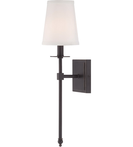 Savoy House Monroe 1 Light Wall Sconce in Classic Bronze 9-302-1-44