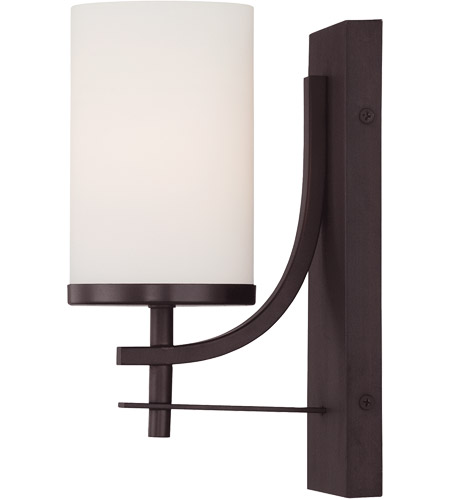 Savoy House Colton 1 Light Sconce in English Bronze 9-337-1-13 photo