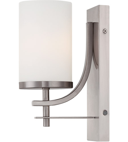 Savoy House 9-337-1-SN Colton 1 Light 5 inch Satin Nickel Sconce Wall Light photo