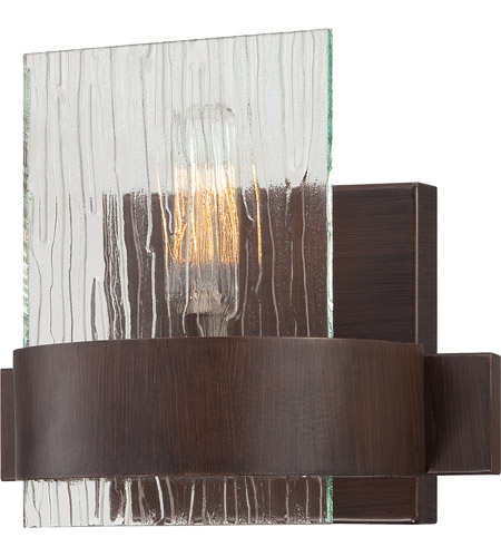 Savoy House Brione 1 Light Sconce in Espresso 9-3514-1-129 photo