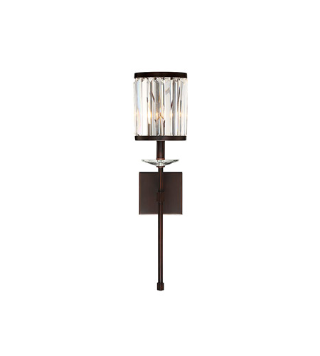 Savoy House 9 400 1 121 Ashbourne 1 Light 7 Inch Mohican Bronze Wall Sconce  Wall Light