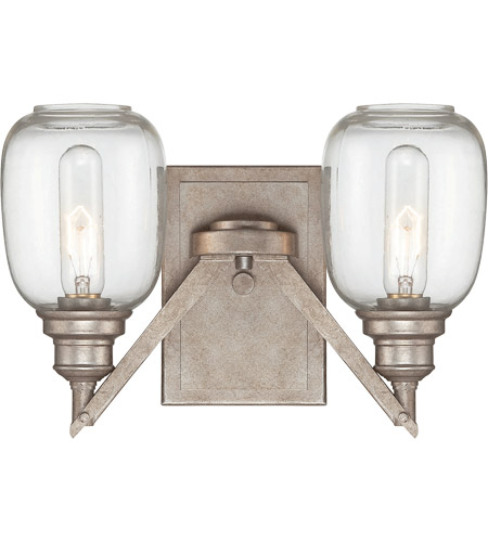 Savoy House Orsay 2 Light Sconce in Industrial Steel 9-4333-2-27