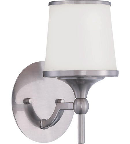 Savoy House Hagen 1 Light Wall Sconce in Satin Nickel 9-4383-1-SN