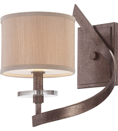 Savoy House Luzon 1 Light Wall Sconce in Antique Nickel 9-4433-1-285 photo