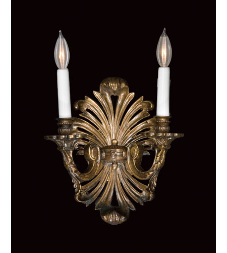 Savoy House European Renaissance 2 Light Wall Sconce in French Oxide ...