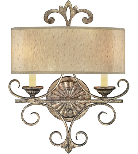 Savoy House 9-511-2-128 Savonia 2 Light 15 inch Oxidized Silver Sconce Wall Light photo
