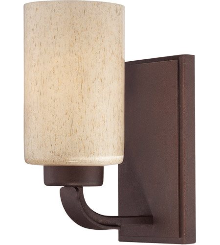 Savoy House 9-5432-1-117 Berkley 1 Light 5 inch Heritage Bronze Sconce Wall Light in Hand Painted Cream photo