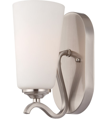 Savoy House Charlton 1 Light Sconce in Satin Nickel 9-6226-1-SN