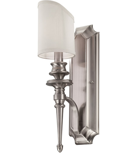Savoy House Bishop 1 Light Wall Sconce in Brushed Pewter 9-6541-1-187 photo