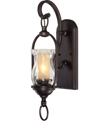 Savoy House Shadwell 1 Light Sconce in English Bronze W/Gold 9-6723-1-213 photo