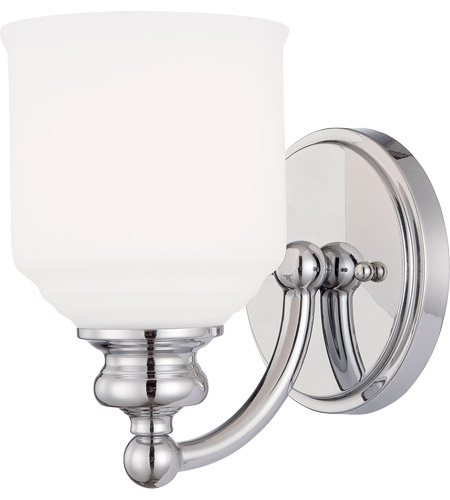 Savoy House Melrose 1 Light Sconce in Polished Chrome 9-6836-1-11 photo
