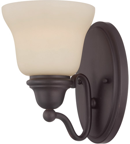 Savoy House 9-6837-1-13 Yates 1 Light 6 inch English Bronze Sconce Wall Light in Pale Cream photo