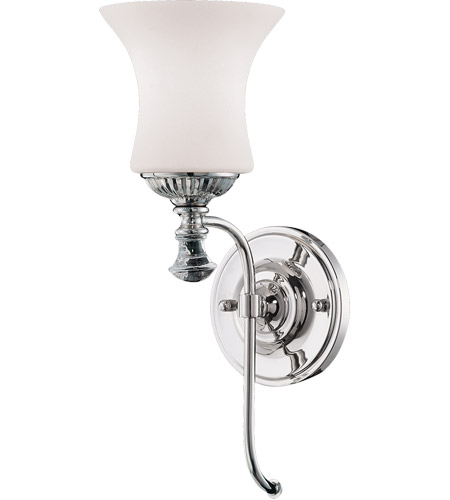 Savoy House Jemmy 1 Light Wall Sconce in Polished Nickel 9-8003-1-109 photo
