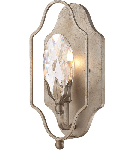 Savoy House Hyde Park 1 Light Sconce in Argentum 9-8172-1-211