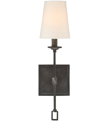 Savoy House 9 9004 1 88 Lorainne 1 Light 4 Inch Oxidized Black Wall Sconce  Wall Light