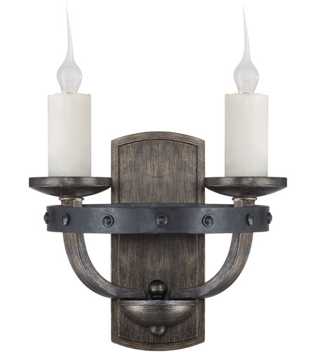 Savoy House 9-9535-2-196 Alsace 2 Light 12 inch Reclaimed Wood Sconce Wall Light photo