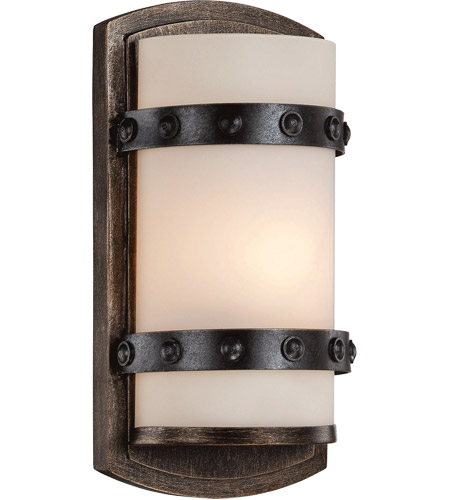 Savoy House 9-9546-1-196 Alsace 1 Light 6 inch Reclaimed Wood ADA Wall Sconce Wall Light photo
