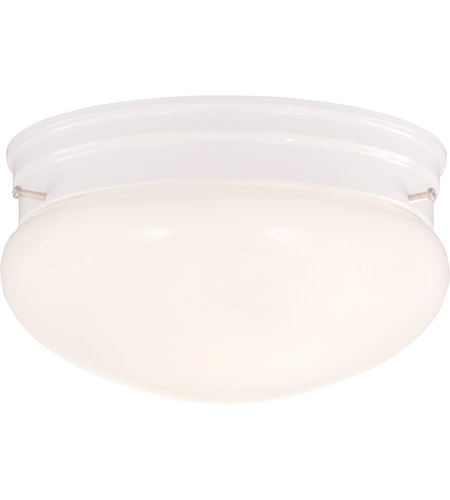 Savoy House Signature 2 Light Flush Mount in White 922-WHT