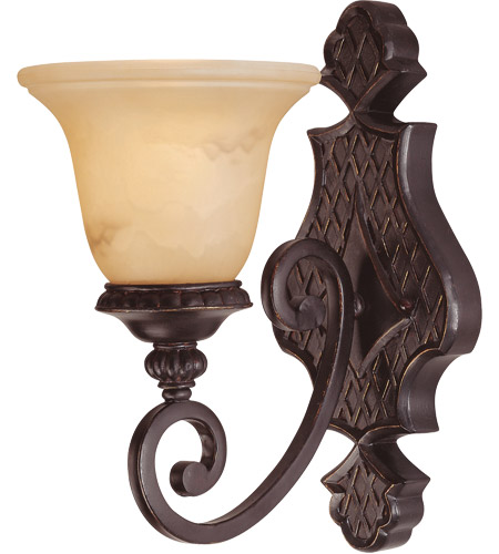 Savoy House Knight 1 Light Sconce in Antique Copper 9P-50216-1-16