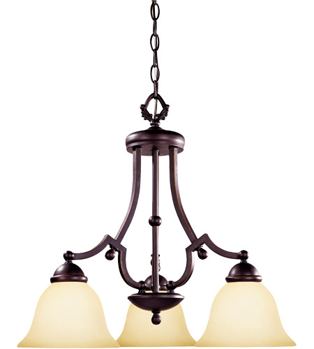 Savoy House Saville 3 Light Chandelier in Slate GZ-1-2089-3-25 photo