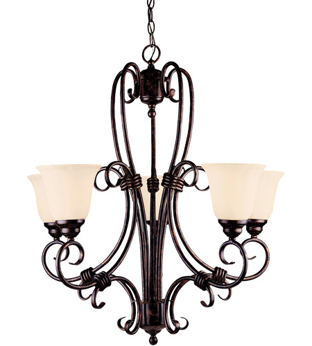 Savoy House Brandywine 5 Light Chandelier in New Tortoise Shell GZ-1-2887-5-56