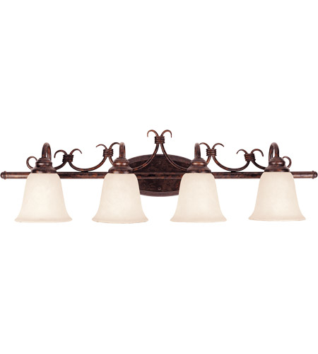 Savoy House Brandywine 4 Light Vanity Light in New Tortoise Shell GZ-8-2894-4-56 photo