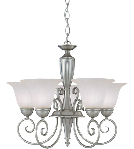 Savoy House Spirit 5 Light Chandelier in Pewter KP-1-5001-5-69 photo