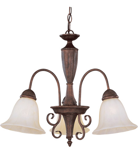 Savoy House Liberty 3 Light Chandelier in Walnut Patina KP-1-5002-3-40 photo