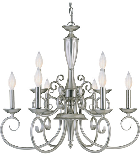 Savoy House Spirit 9 Light Chandelier in Pewter KP-1-5007-9-69 photo